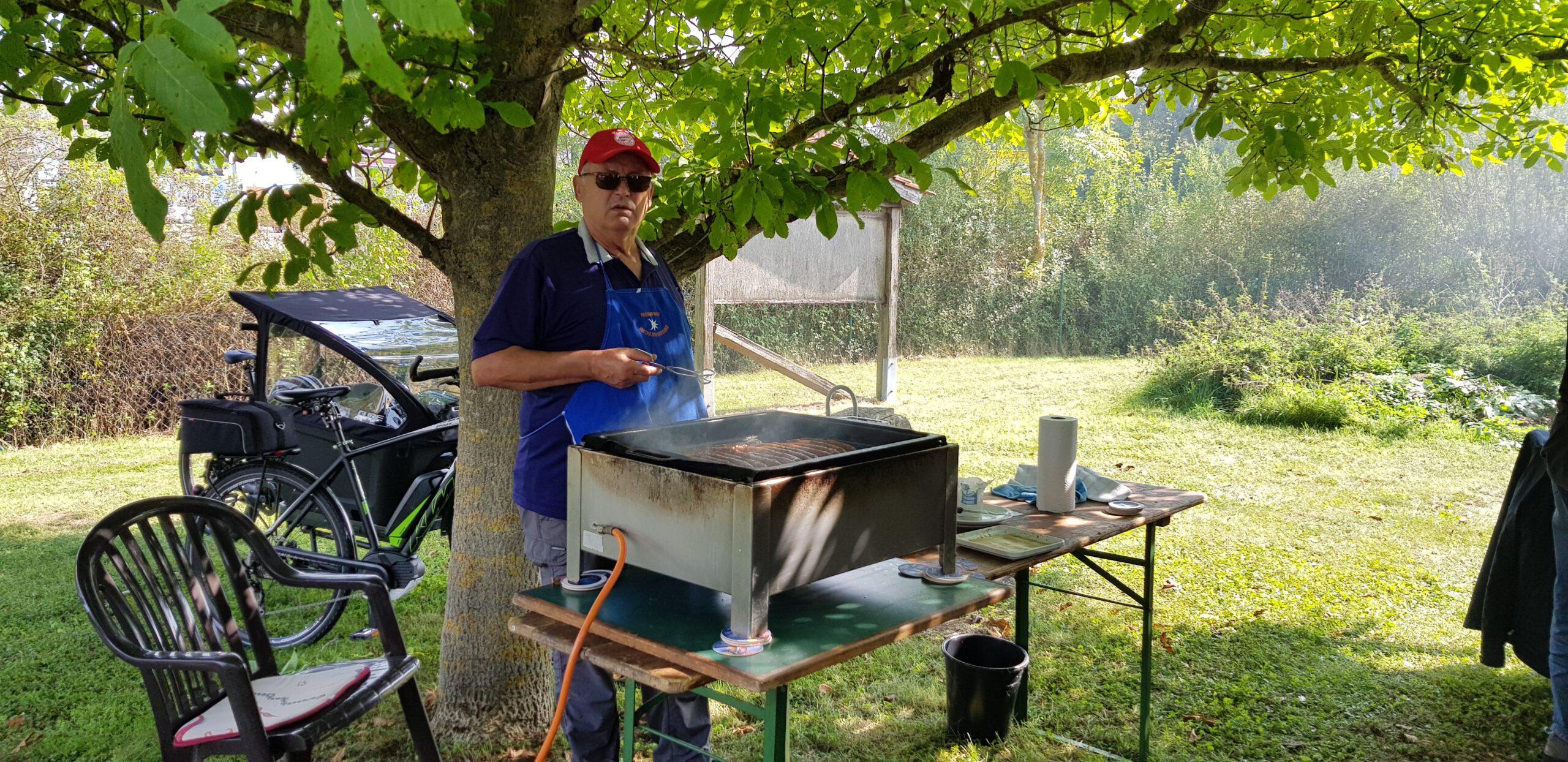 Erste Grillmeister Andi